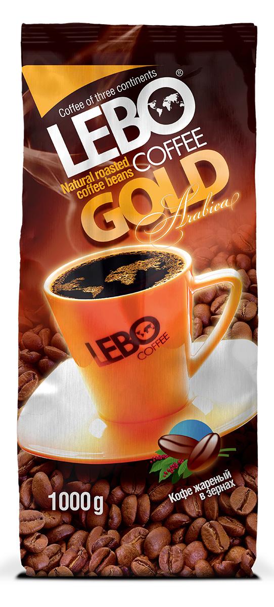 Lebo Gold Арабика кофе в зернах, 1 кг4600696210057Натуральный жареный кофе в зернах Lebo Gold приготовлен из отборных сортов кофе, выращенных на высокогорных плантациях Центральной и Южной Америки, Африки. Кофе с ярко выраженным, изысканным, богатым вкусом, с легкой кислинкой, цветочными нотами и карамельным послевкусием. С самого первого глотка его бодрящий вкус и деликатный, богатый аромат покорит даже самого настоящего гурмана.