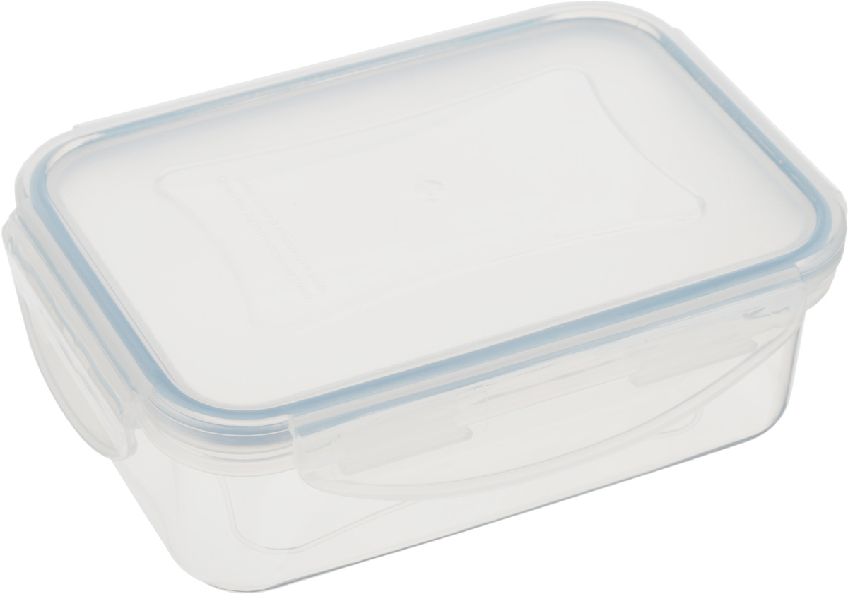 Контейнер Tescoma Freshbox, прямоугольный, 400 млVT-1520(SR)Контейнер Tescoma Freshbox, изготовленный из прочного пластика, отлично подходит для хранения и разогрева блюд. Герметичная крышка имеет силиконовый уплотнитель, пища остается свежей дольше и не протекает при перевозке. Подходит для холодильника, морозильных камер, микроволновой печи и посудомоечной машины.