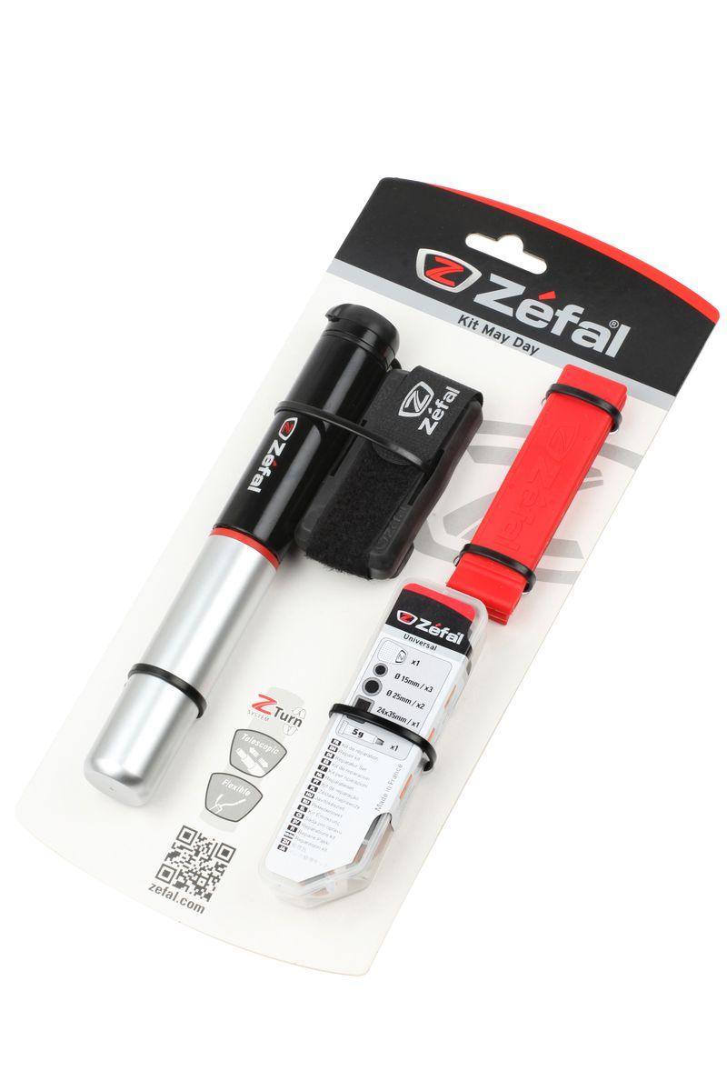 Набор для ремонта камер Zefal Kit May Day8431С помощью набора для ремонта камер Zefal Kit May Day вы сможете быстро отремонтировать прокол и продолжить катание на велосипеде.В комплект входят: - Мини-насос Zefal Air Profil FC01 (подходит под авто и вело ниппель) - Монтажки усиленные Zefal Z Levers - Инструмент для зачистки камеры- Заплатки ( 6 шт круглых, диаметр 15 мм, 2 шт прямоугольных 30х50 мм)- Клей 5г. Алюминиевый насос Zefal Air Profil FC01 имеет телескопическую конструкцию, благодаря чему процесс накачки занимает меньше времени. Специальная система клапана Z-swift позволяет использовать этот насос с двумя типами ниппелей (авто и вело). Насос компактный и его легко прикрепить к велосипеду за счет фирменного крепления (поставляется в комплекте с насосом). Максимальное давление: 8 атмосфер (116 psi)Корпус выполнен из алюминияВес: 92 грДлина насоса: 230 ммZefal - старейший французский производитель велосипедных аксессуаров премиального качества, основанный в 1880 году, является номером один на французском рынке велосипедных аксессуаров.