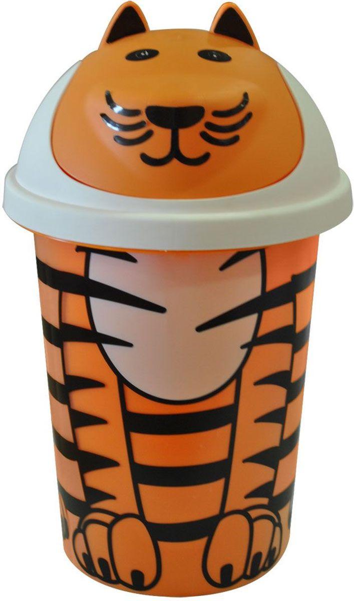 Little Angel Корзина для игрушек Jungle цвет оранжевыйLA2541ОРЯркая и оригинальная корзина для игрушек с мордочкой и полосатой основой имеет законченный образ зверюшки. Ушки, глазки, носик, улыбку и усики малыш может наклеить самостоятельно.Компактная и вместительная детская корзина станет оригинальным элементом детской комнаты.