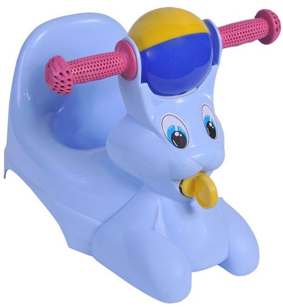 Little Angel Горшок-игрушка Зайчик цвет голубой