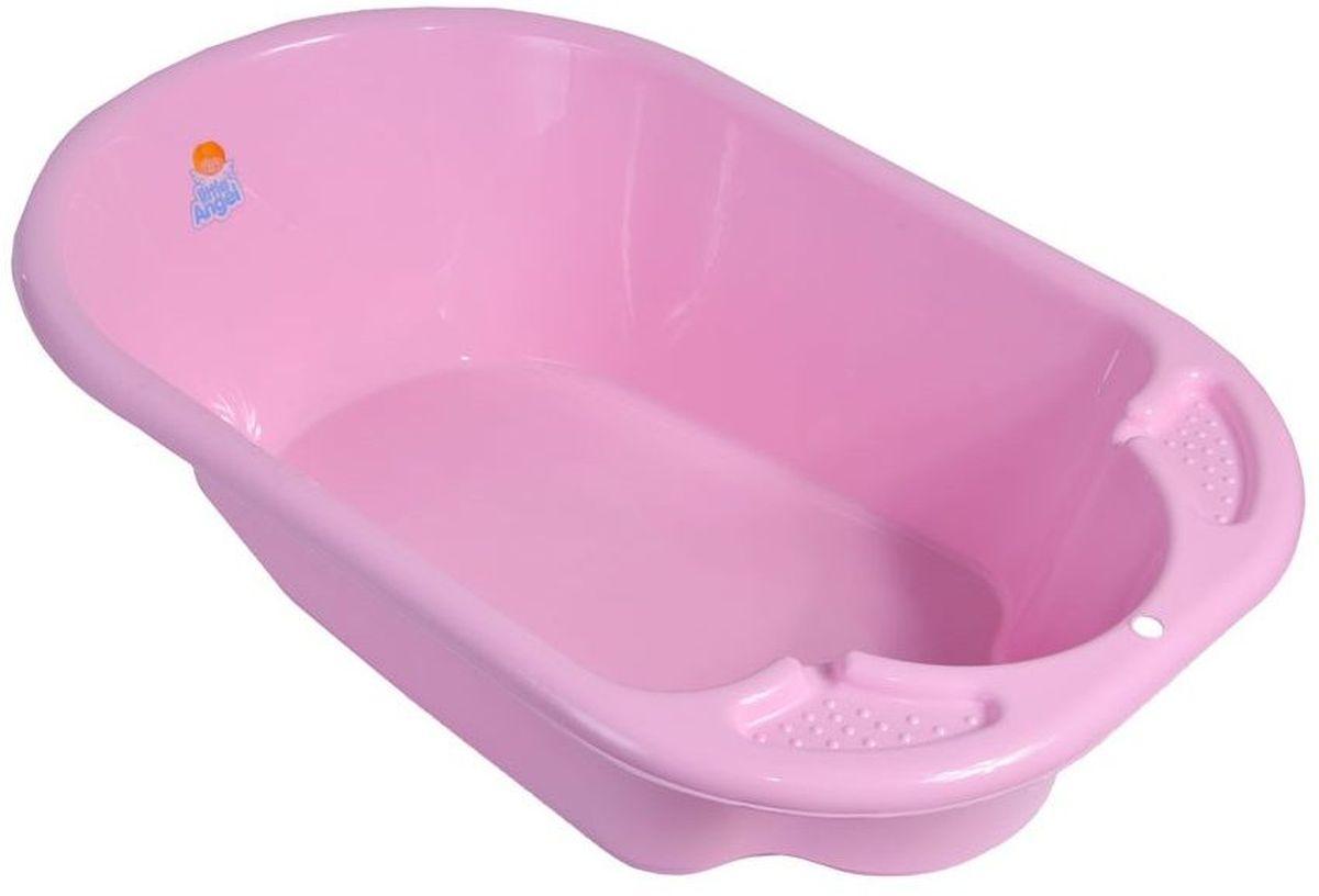 Little Angel Ванна детская Дельфин цвет розовый -  Все для купания