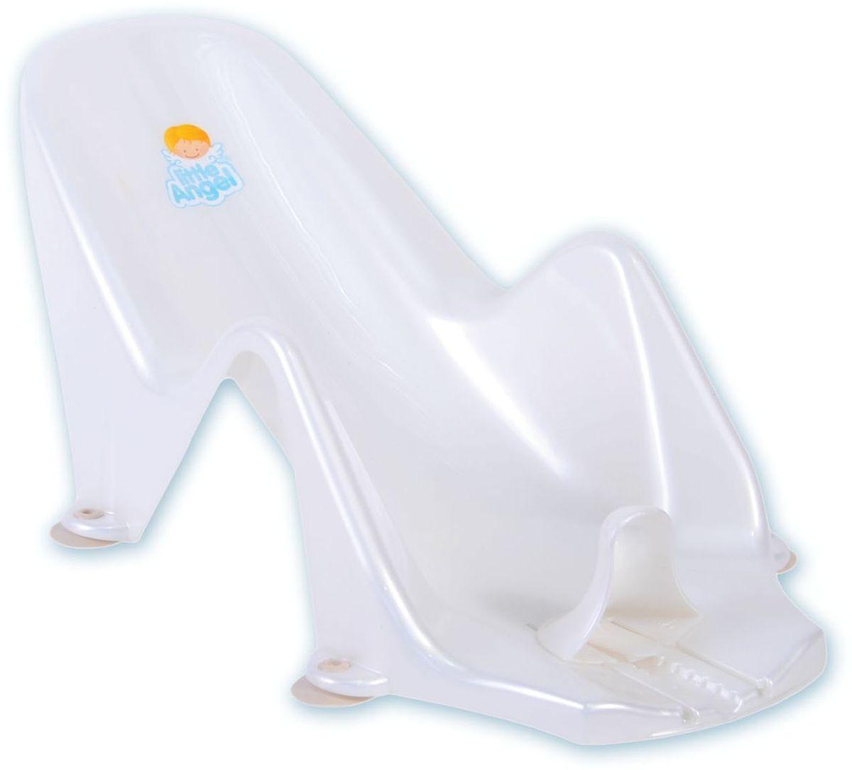 Little Angel Горка для купания Дельфин цвет белый -  Горки, подставки, шезлонги