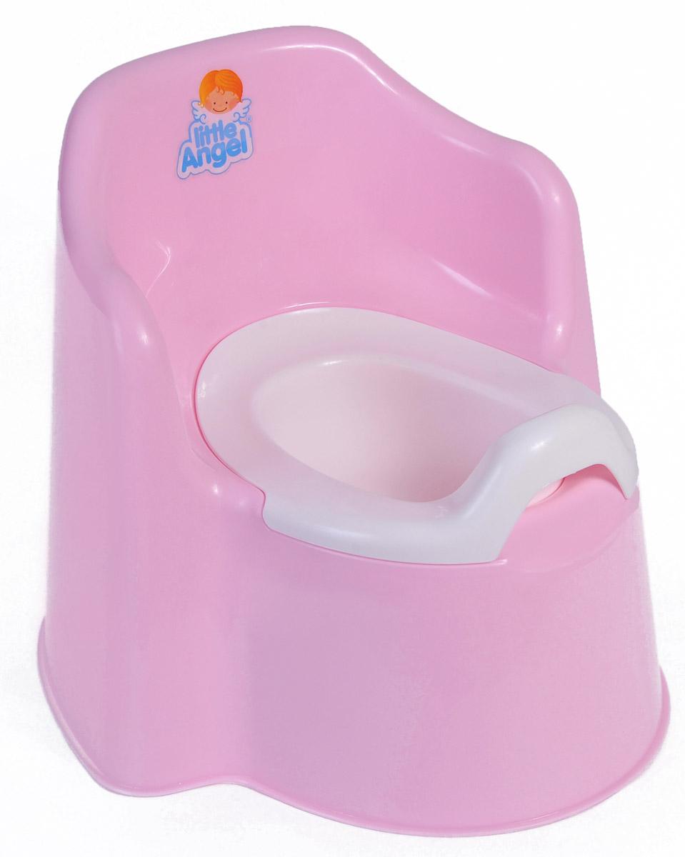 Дети в восторге от этого кресла-горшка, ведь это личный маленький туалет-трон. Специальный дизайн спинки, повторяющий очертания детской спины, высокие и удобные подлокотники позволяют ребенку комфортно сидеть на нашем горшке. Внутренняя часть горшка легко вынимается и моется отдельно. Надежная защита от брызг одинаково подходит как девочкам, так и мальчикам. Вырез на задней спинке горшка в форме озорной улыбки позволяет его легко переносить.