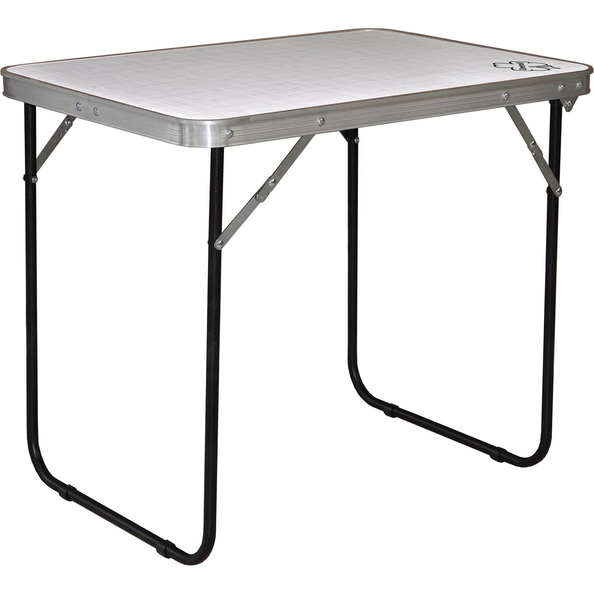 Стол складной Greenell FT-12 R16 WR, цвет: стальной, 50 х 70 х 60 см95860-000-00Складной стол для кемпингового отдыха на природе.Водостойкий материал столешницы. Максимальная нагрузка: 30 кг.Материал: HDF. Каркас: Сталь (диаметр 16 мм).Размеры (ДхШхВ): 50 х 70 х 60 см.Размеры в сложенном виде: 74 х 55 х 7 см.