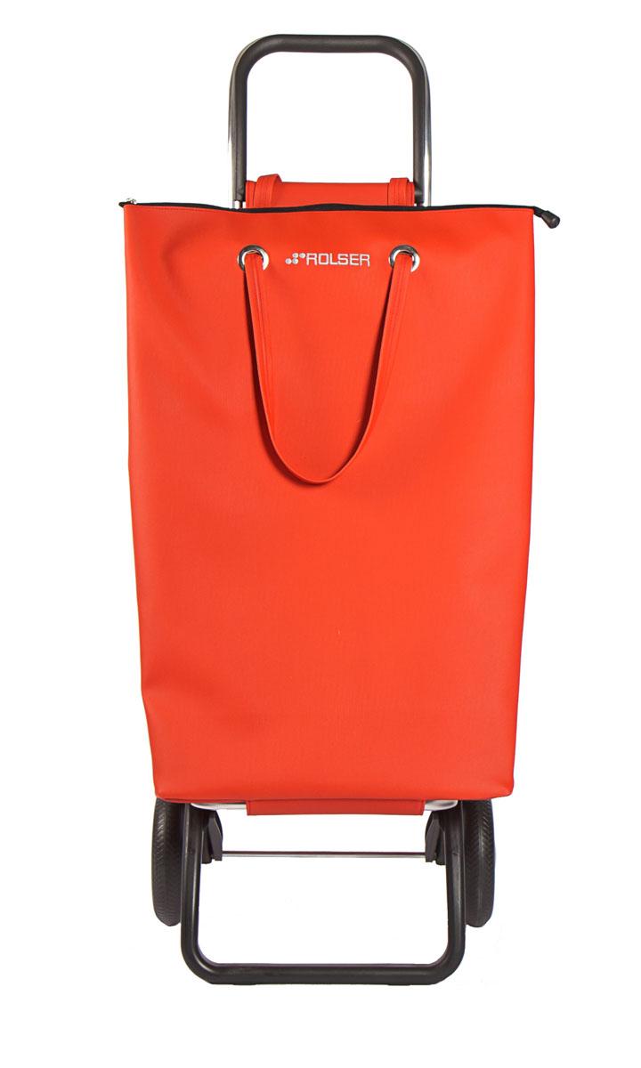 Сумка хозяйственная Rolser, на колесиках, цвет: красный, 50 лSUP001 rojoАлюминиевая тележка для покупок Rolser с 2 колесами. Можно использовать как ручную кладь в самолете и носить отдельно от рамы, есть внутренний карман, сумка закрывается на молнию. Легкое крепление к раме на липучке. Два типа сложения: двойное сложение рамы и передней подставки, занимает минимальное место в сложенном виде при хранении при хранении, имеет специальное устройство для прикрепления к тележке супермаркета. Колеса выполнены из резина EVA Ткань полиэстер, влагоустойчивая. Тележка складывается. Объем: 50 л. Диаметр колес: 16,5 см. Рекомендованная нагрузка: 25 кг.Чистка ручная или химчистка.