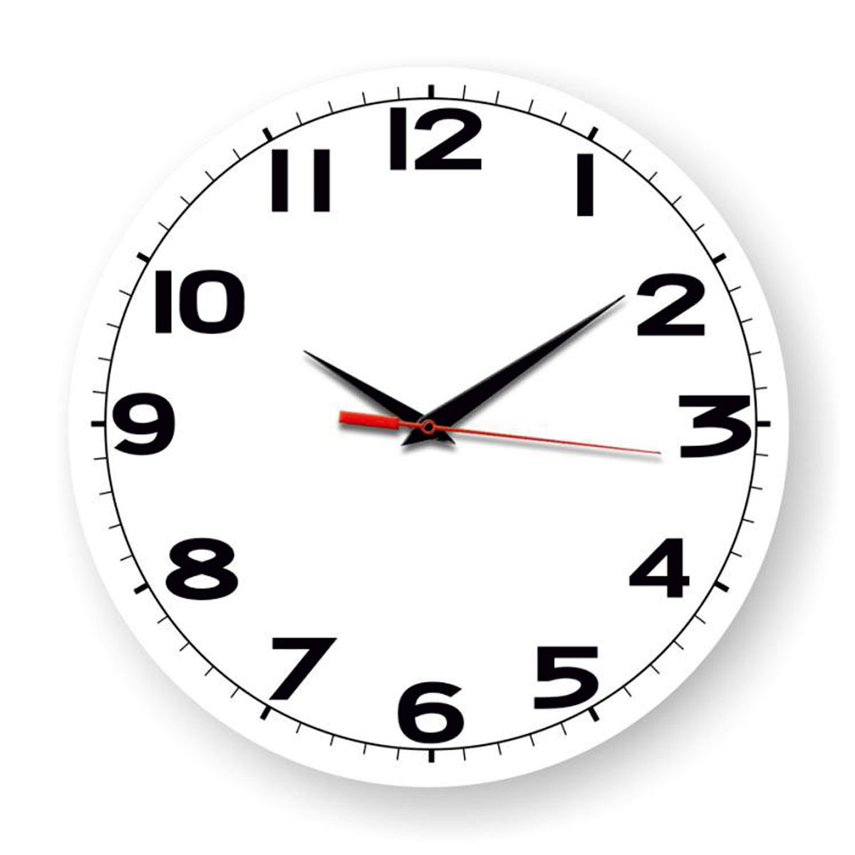 Часы настенные Miolla Дети, цвет: черный, белый94672Оригинальные настенные часы круглой формы выполнены из закаленного стекла. Часы имеют три стрелки - часовую, минутную и секундную и циферблат с цифрами. Необычное дизайнерское решение и качество исполнения придутся по вкусу каждому. Диаметр часов: 28 см.Часы работают от 1 батарейки типа АА напряжением 1,5 В.