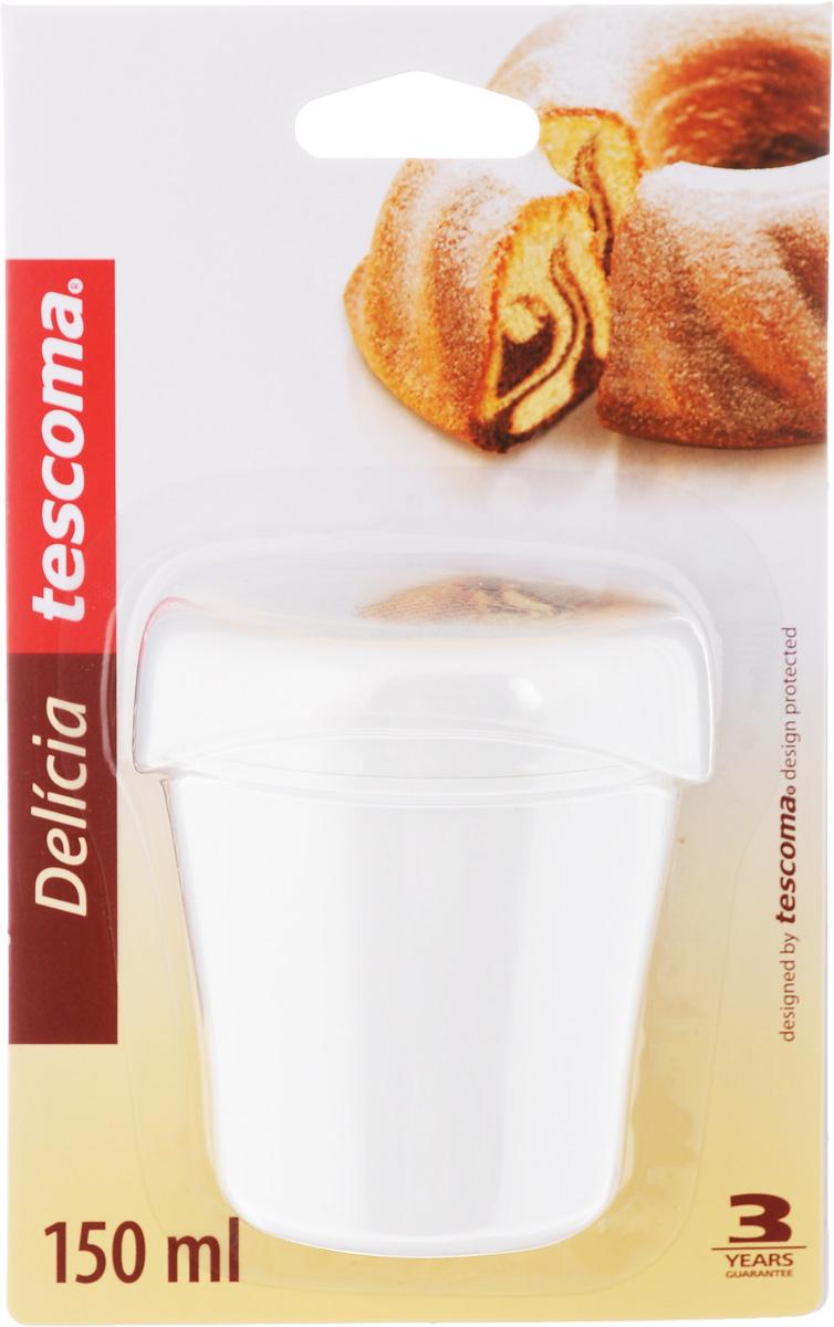 Сахарница Tescoma Delicia, с крышкой, 150 мл115510Сахарница Tescoma Delicia, выполненная из прочного пластика, оснащена прозрачной крышкой для предохранения наполнителя от сырости. Ситечко изготовлено из высококачественной нержавеющей стали. Сахарницу можно легко разобратьМожно мыть в посудомоечной машине.Диаметр сахарницы (по верхнему краю): 6 см.Высота сахарницы (без учета крышки): 9 см.