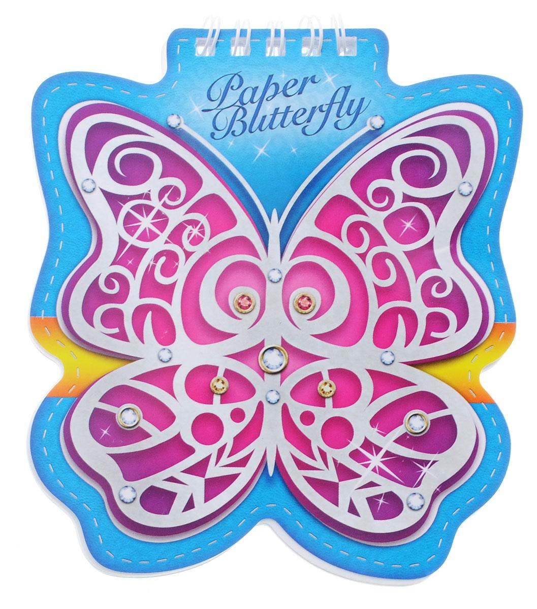 Hatber Блокнот Paper Butterfly 60 листов72523WDБлокнот Hatber Paper Butterfly послужит прекрасным местом для памятных записей, любимых стихов и многого другого.Внутренний блок состоит из 60 листов белой бумаги на металлическом гребне без линовки.Интересные форма и обложка блокнота притягивают взгляды всех любителей необычного. Блокнот - незаменимый атрибут современного человека, необходимый для рабочих и повседневных записей в офисе и дома.