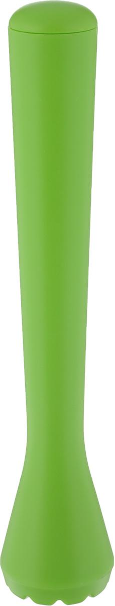 Палочка-толкушка для Мохито и Кайпиринья Tescoma myDRINK, длина 20 смVT-1520(SR)Палочка-толкушка Tescoma myDRINK отлично подходит для приготовления Мохито, Кайпиринья и других смешанных напитков, которые требуют измельчения ингредиентов прямо в стакане. Сделана из высококачественного прочного пластика.Можно мыть в посудомоечной машине.Длина палочки-толкушки: 20 см.Диаметр основания: 4 см.