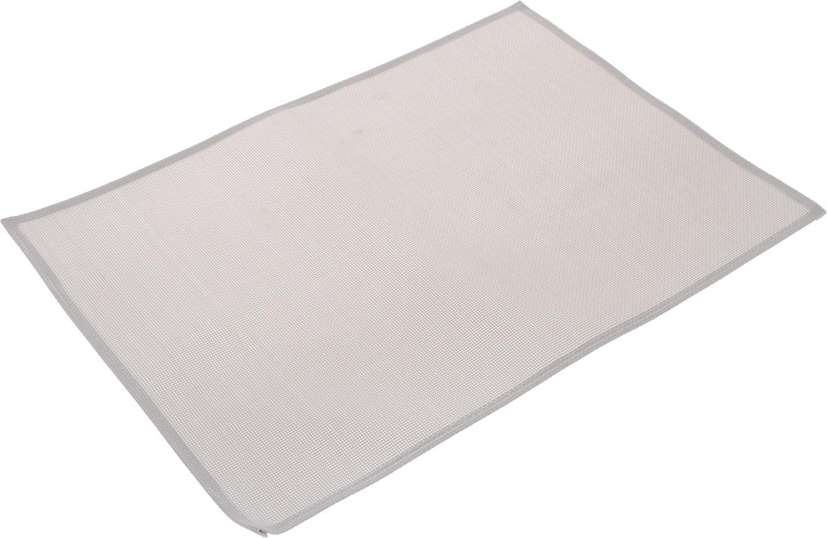 Салфетка сервировочная Tescoma Flair Lite, цвет: перламутровый, 45 х 32 см662032Элегантная салфетка Tescoma Flair Lite, изготовленная из прочного искусственного текстиля, предназначена для сервировки стола. Она служит защитой от царапин и различных следов, а также используется в качестве подставки под горячее. После использования изделие достаточно протереть чистой влажной тканью или промыть под струей воды и высушить.Не мыть в посудомоечной машине, не сушить на батарее.Размер салфетки: 45 х 32 см.