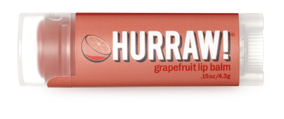 Hurraw! Бальзам для губ Grapefruit Lip Balm, 4,3 г28032022Бальзамы для губ Hurraw! производятся в США на небольшом домашнем производстве.Идея создателей бренда заключалась в том, чтобы разработать поистине идеальный бальзам для губ: натуральный, вегетарианский, произведенный из органических ингредиентов высочайшего качества и не содержащий вредных веществ и искусственных компонентов.Все бальзамы Hurraw! производятся из чистого органического масла, которое добывается путем холодного отжима, что позволяет всем веществам сохранять свои полезные свойства.Помимо этого, приятно знать, что продукция марки Hurraw! не содержит ингредиентов животного происхождения и никогда не тестируется на животных.А еще бальзамы разливаются по флакончикам вручную!