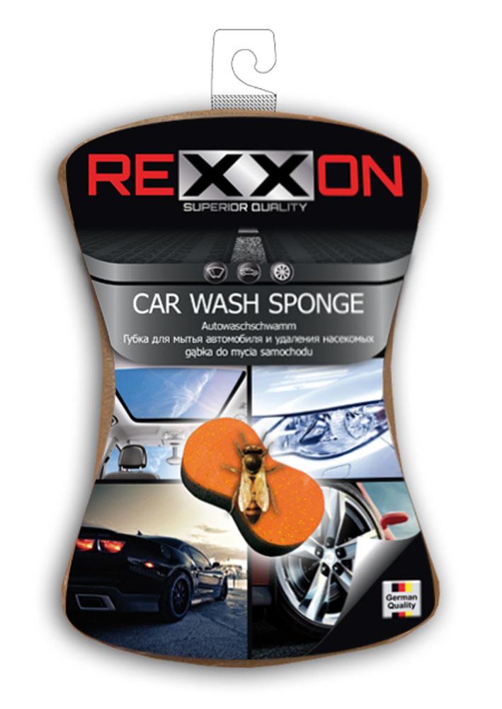Губка для автомобиля Rexxon, двухслойная, 170 х 115 х 50 ммRC-100BWCГубка для автомобиля два в одном. Модель с жестким пенополиуретановым слоем для устранения наиболее стойких загрязнений и насекомых.