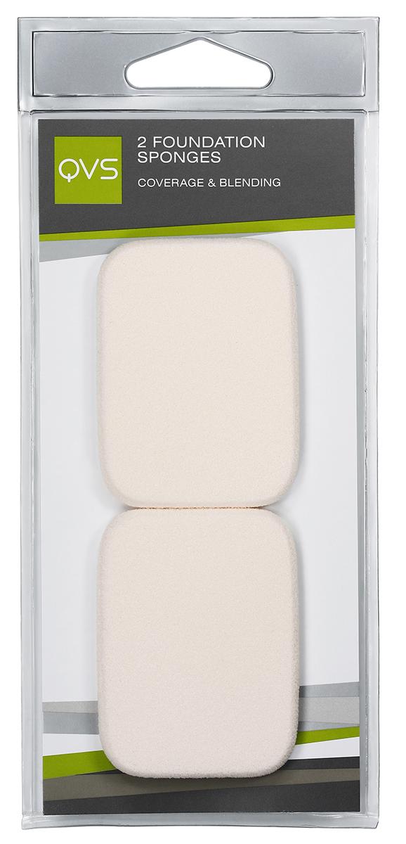 QVS Спонжи прямоугольные для нанесения основы макияжа любого типа (кремообразной и водной); 2 шт19-5031Компактные спонжи для нанесения тональной основы (2 шт) идеально подходят для нанесения и растушевки макияжа. Профессиональный выбор, идеальны для нанесения тонального крема как на масляной, так и на водной основе. Способ применения: Легкими касаниями нанесите тональную основу на нос, лоб, щеки, подбородок. Мягко и равномерно растушуйте косметическое средство от центра к периферии лица.