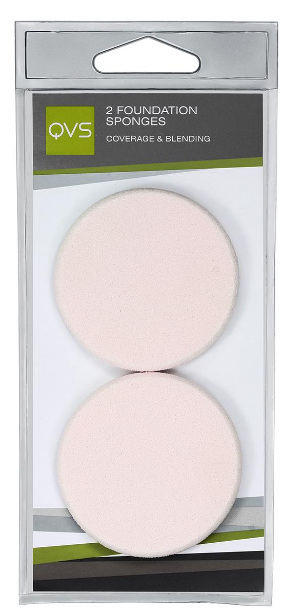 QVS Спонжи круглые для нанесения основы макияжа любого типа (кремообразной и водной); 2 шт1056V15646Компактные спонжи для нанесения тональной основы (2 шт) идеально подходят для нанесения и растушевки макияжа. Профессиональный выбор, идеальны для нанесения тонального крема как на масляной, так и на водной основе. Способ применения: Легкими касаниями нанесите тональную основу на нос, лоб, щеки и подбородок. Мягко и равномерно растушуйте косметическое средство от центра к периферии лица.