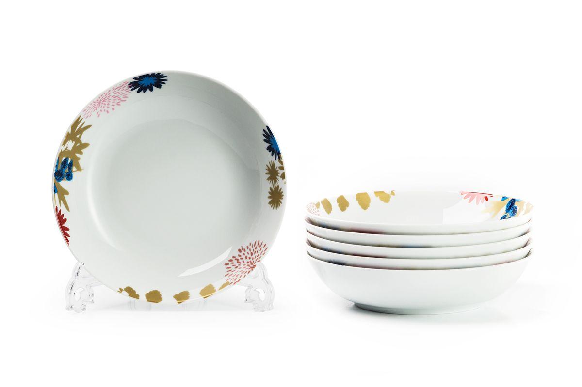 Набор глубоких тарелок La Rose des Sables Ilionor, диаметр 22 см, 6 штFS-91909Можно использовать в СВЧ и посудомоечной машине.