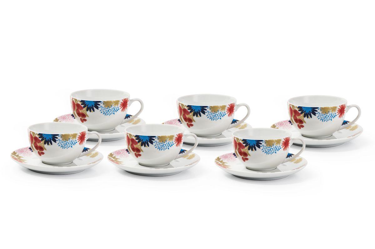 Набор чайных пар La Rose des Sables Ilionor, 220 мл, 6 штVT-1520(SR)Можно использовать в СВЧ и посудомоечной машине.
