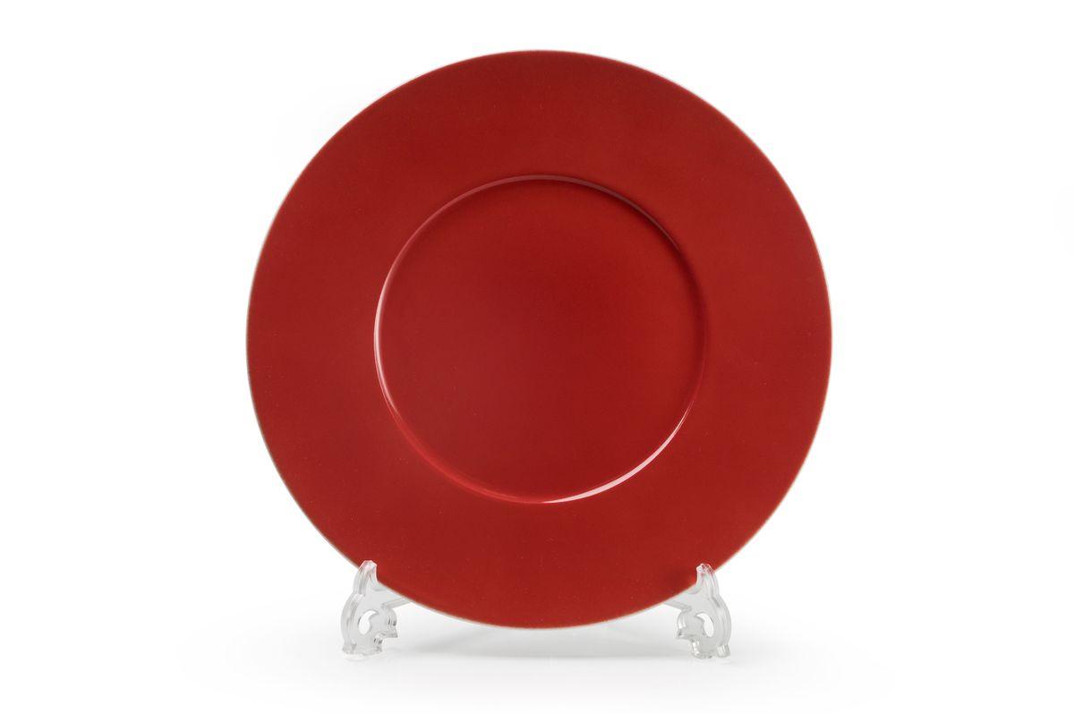 Блюдо круглое La Rose des Sables Putoisage Rouge, диаметр 31 см блюдо la rose des sables princier platine 23 5 см