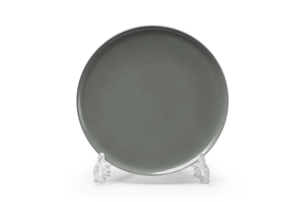 Тарелка La Rose des Sables Yaka Gris, диаметр 27 см54 009312Можно использовать в СВЧ и посудомоечной машине.