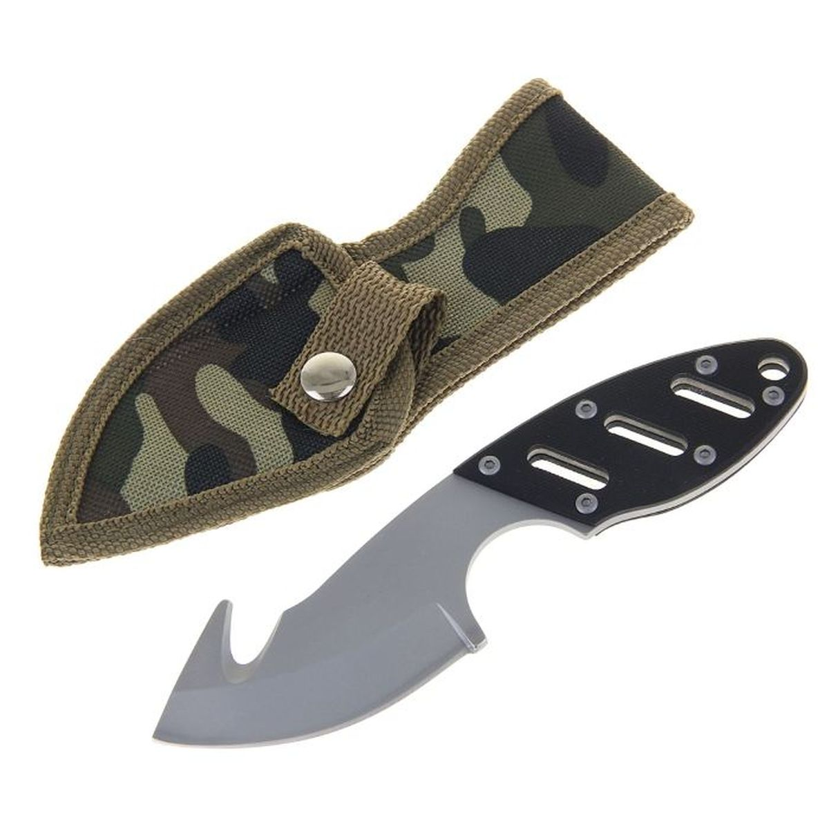 Нож туристический Sima-land, с открывалкой, 16 см. 11541871.3703Нож Sima-land выполнен из стали, оснащен открывалкой. Нож практически не подвержен износу и способен служить годами. Такой инструмент будет вашим постоянным спутником во время охоты или рыбалки.Нож - неотъемлемый атрибут настоящего мужчины. Издревле ножи и клинки вручались знатным особам за проявление отваги и чести на военной службе. Такие подарки очень ценились и становились семейными реликвиями. Сегодня нож - это прекрасный подарок, который подойдет любому мужчине.Размер: 16 х 0,5 х 3,5 см.В комплекте чехол из текстиля.
