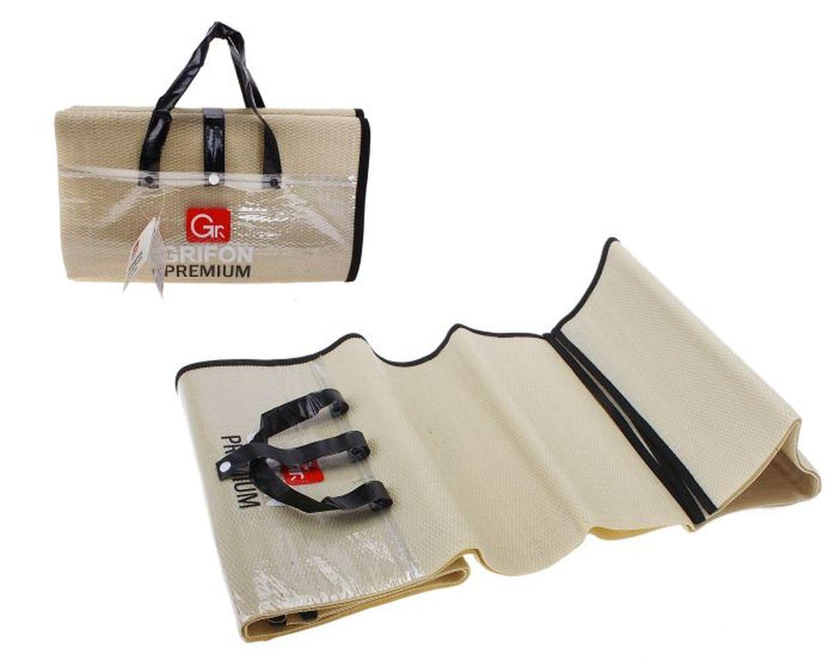 Коврик для барбекю GRIFON Premium, 1,5 х 1,5 м37501Туристический коврик является необходимым атрибутом любого туристического похода, выездов за город, рыбалки. Легкий коврик предназначен для сохранения тепла, комфортного сна и предохранения спального мешка от различных повреждений и влаги.