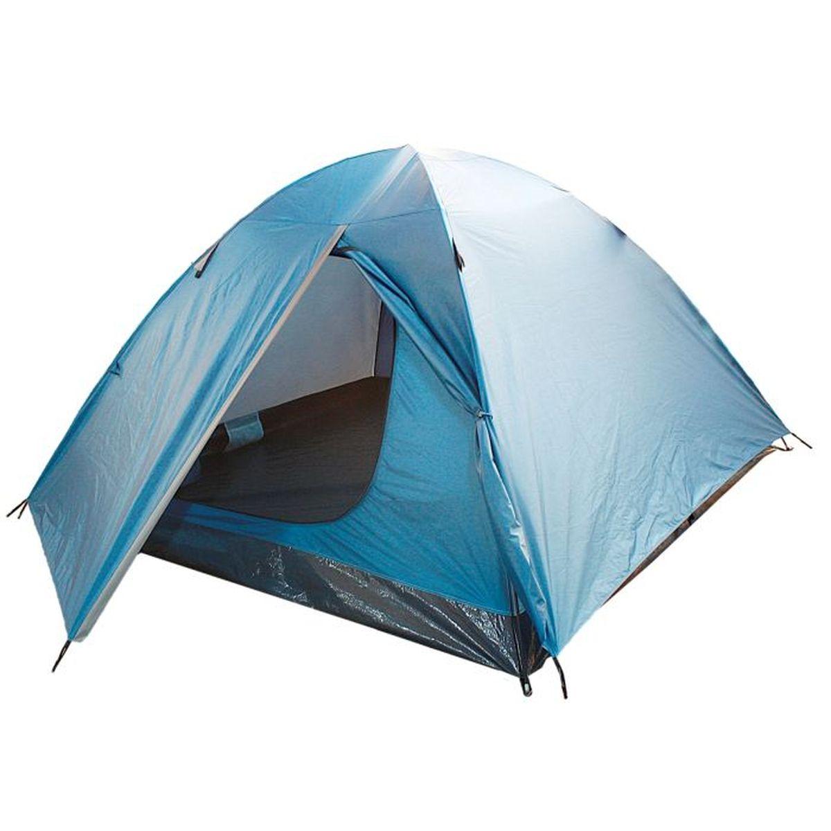 Палатка туристическая Onlitop ROOT 2, цвет: голубойWS 7064Если вы заядлый турист или просто любитель природы, вы хоть раз задумывались о ночёвке на свежем воздухе. Чтобы провести её с комфортом, вам понадобится отличная палатка, Она обеспечит безопасный досуг и защитит от непогоды и насекомых. Ткань рипстоп гарантирует длительную эксплуатацию палатки за счёт высокой прочности материала.