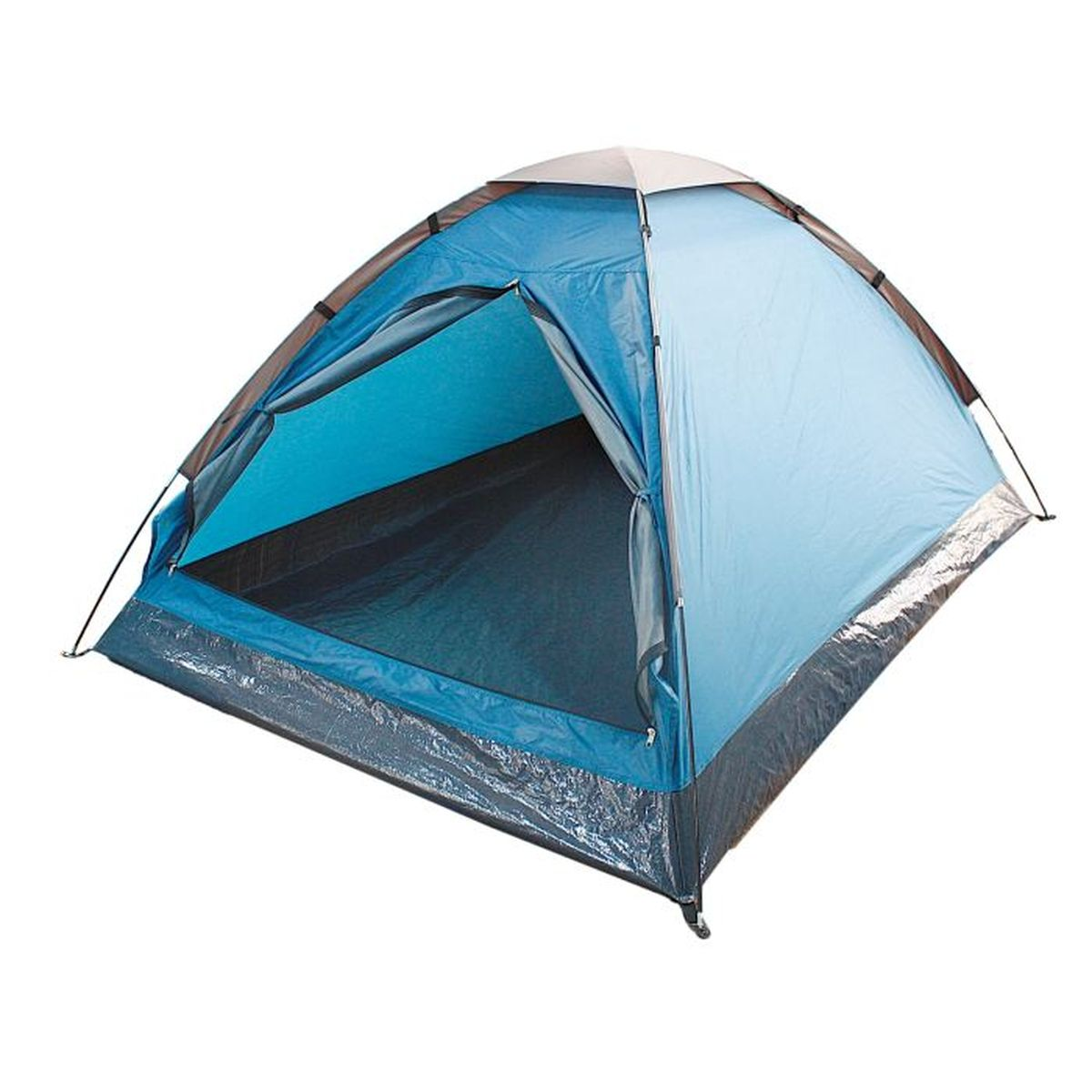 Палатка туристическая Onlitop SANDE 2, цвет: голубойAS009Если вы заядлый турист или просто любитель природы, вы хоть раз задумывались о ночёвке на свежем воздухе. Чтобы провести её с комфортом, вам понадобится отличная палатка, Она обеспечит безопасный досуг и защитит от непогоды и насекомых. Ткань рипстоп гарантирует длительную эксплуатацию палатки за счёт высокой прочности материала.