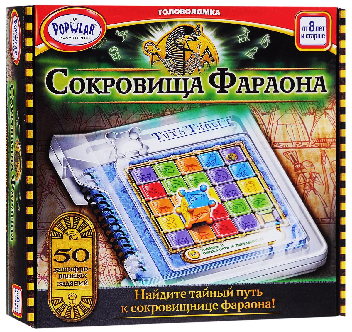 Popular Playthings Настольная игра Сокровища Фараона -
