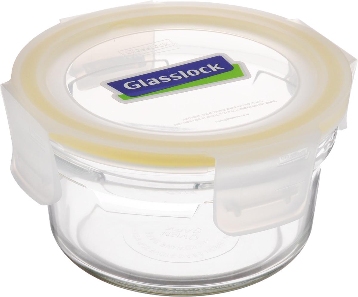 Контейнер Glasslock, круглый, 350 мл79 02471Контейнер для хранения Glasslock изготовлен из высококачественного закаленного ударопрочного стекла. Герметичная крышка, выполненная из пластика и снабженная уплотнительной резинкой, надежно закрывается с помощью четырех защелок. Подходит для мытья в посудомоечной машине, хранения в холодильных и морозильных камерах, использования в микроволновых печах. Выдерживает резкий перепад температур.Стеклянная посуда нового поколения от Glasslock экологична, не содержит токсичных и ядовитых материалов; превосходная герметичность позволяет сохранять свежесть продуктов; покрытие не впитывает запах продуктов; имеет утонченный европейский дизайн - прекрасное украшение стола.Диаметр контейнера (по верхнему краю): 11 см.Диаметр основания контейнера: 7,5 см.Высота контейнера (с учетом крышки): 7 см.