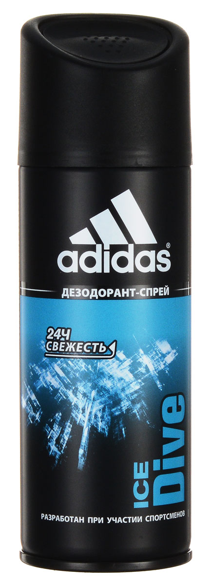 Adidas Ice Dive. Дезодорант, 150 млSatin Hair 7 BR730MNДезодорант от Adidas с ароматом Ice Dive.Adidas Ice Dive - это ароматдля мужчин, которые стремятся в жизни к крутым виражам и головокружительным победам, в то время какдругие довольствуются тем, что имеют. С ароматом лосьона после бритья Ice Dive всегда есть место риску и приключению. Классификация аромата: цитрусовый, древесный.Пирамида аромата:Верхние ноты: бергамот, мандарин, грейпфрут, анис, лаванда, экстракт из листьев мяты.Ноты сердца: сандаловое дерево, герань, пачули.Ноты шлейфа: бобы тонка, ваниль, амбра.Ключевые слова:Дерзкий, независимый, энергичный. Характеристики: Объем: 150 мл. Производитель:Испания.Марка Adidas - это олицетворение настоящей страсти к спорту. С моментаоснования в 1949 г., ее философия никогда не менялась, а поиски к совершенствуне заканчивались. Цель - работа с атлетами на всех стадиях соревнований для разработки самого лучшего оборудования, экипировки спортсменовдля достижения оптимальных результатовпосредством изучения работы человеческого тела.Adidas - это жажда жизни. Три знаменитые полоски вышли за пределы спортивного назначения и вторглись вповседневную жизнь. Линия средств по уходу Adidasдавно переняла спортивный опыт компании Adidas, добавив его к мастерству в области личной гигиены ведущей парфюмерно-косметической компании Coty. Товар сертифицирован.