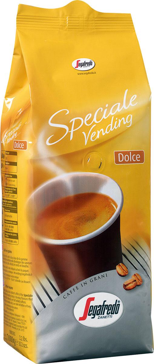Segafredo Vending Dolce кофе в зернах, 1 кг0120710Segafredo Vending Dolce - кофе, разработанный специально для вендингового оборудования и автоматических кофемашин. Самый тонкий и деликатный кофе из линейки Segafredo, с мягким, легким вкусом.