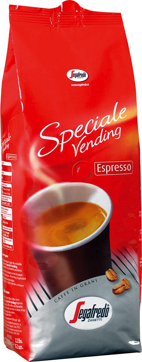 Segafredo Vending Espresso кофе в зернах, 1 кг0120710Segafredo Vending Espresso - кофе, разработанный специально для вендингового оборудования и автоматических кофемашин. Традиционный итальянский насыщенный кофе, с интенсивным вкусом и сильным характером.