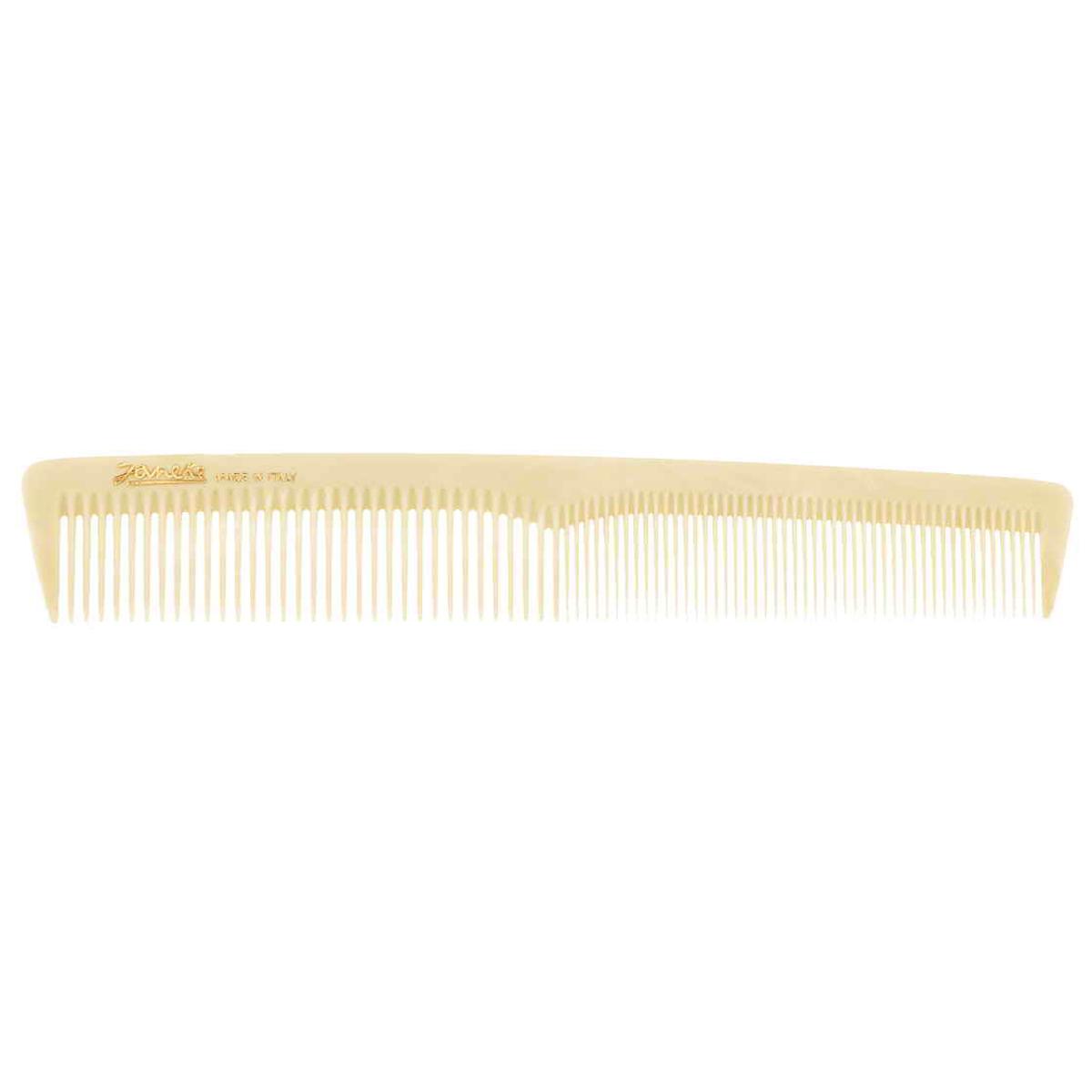 Janeke Расческа для волос. 74804MP59.4DМарка Janeke – мировой лидер по производству расчесок, щеток, маникюрных принадлежностей, зеркал и косметичек. Марка Janeke, основанная в 1830 году, вот уже почти 180 лет поддерживает непревзойденное качество своей продукции, сочетая новейшие технологии с традициями ста- рых миланских мастеров. Все изделия на 80% производятся вручную, а инновационные технологии и современные материалы делают продукцию марки поистине уникальной. Стильный и эргономичный дизайн, яркие цветовые решения – все это приносит истин- ное удовольствие от использования аксессуаров Janeke. Пластиковая линия из высококачественного сырья, большое разнообразие моделей и цветов, кончик расчески специально закруглен, чтобы предотвратить разрыв волоса