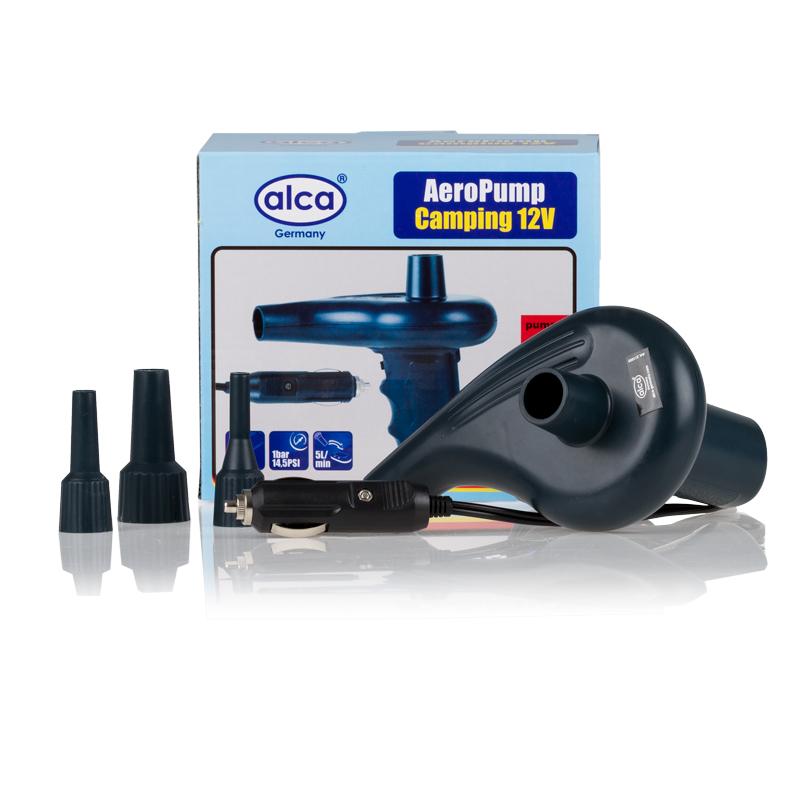 Насос автомобильный Alca, 12В, 24 Вт112836Автомобильный насос Alca работает от автомобильной сети. Корпус изделия выполнен из прочного пластика. Применяется для накачивания резиновых мячей, надувных матрасов, кемпинга, лодок и других предметов. В комплект входит 3 адаптера,Длина кабеля питания: 1,2 м.Напряжение: 12В.Мощность: 24 Вт.Производительность: 5 л/мин.Давление: 1 бар/14,5 PSI.