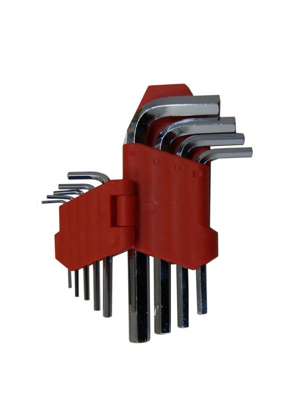 Набор ключей шестигранных Skybear, 9 шт,1,5-10 мм, стандартные98298123_черныйНабор ключей шестигранных, 9 шт 1.5 - 10 мм, стандартные