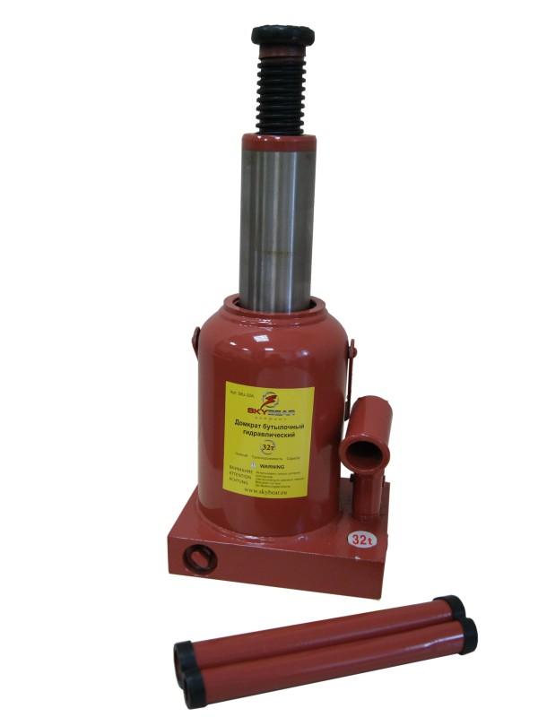 Домкрат бутылочный гидравлический Skybear, 32А т (h230-430)80621Домкрат гидравлический 32А т(h230-430)