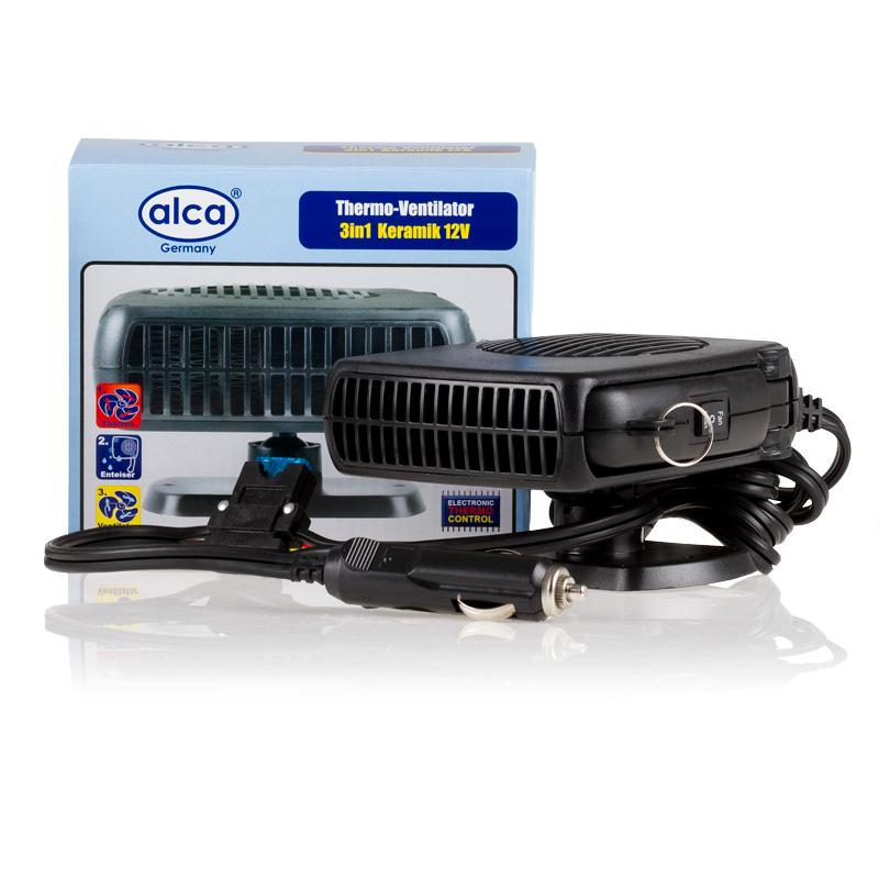 Тепловентилятор автомобильный Alca, 3 в 1. 544000544000Тепловентилятор Alca 3 в 1 предназначен для прогрева салона автомобиля. Незаменимый прибор в зимнее время. Способствует быстрому оттаиванию замерзших стекол. Тепловентилятор обладает специальной выдвижной ручкой, что позволяет удобно направить его на нужную область.Съемная модель крепится на подставку, которая приклеивается к автомобилю( все это в комплекте). Особенности:- Очищает лобовое стекло от наледи.- Летом может использоваться в качестве вентилятора.- Корпус устройства выполнен из керамики.- Надежная фиксация в салоне автомобиля с помощью клейкой ленты или шурупов.- Имеет вращающуюся основу.- Имеет практичную складную ручку.Технические характеристики:Входящаямощность: 12 V.Мощность тепловентилятора: 150 Ватт (max).Комплектация:- Тепловентилятор;- Основа под тепловентилятор.