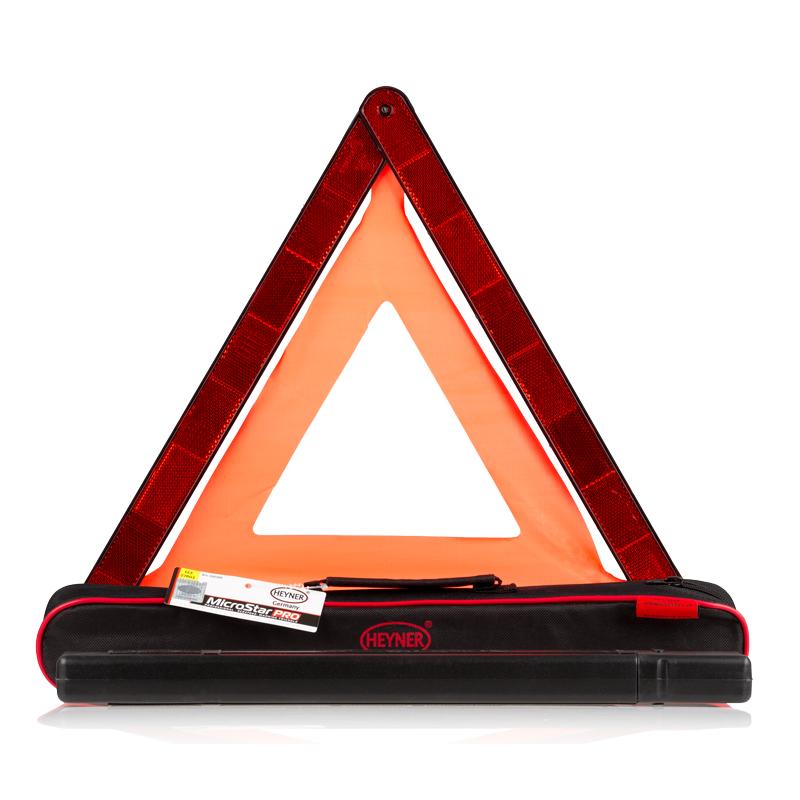 Знак аварийной остановки HeynerВетерок 2ГФЗнак аварийной остановки Heyner выполнен из прочного пластика. Гарантированная безопасность обеспечивается качественным отражением даже ночью. Основание повышает устойчивость знака на дорожном покрытии. Компактно складывается. Для хранения предусмотрен специальный футляр.