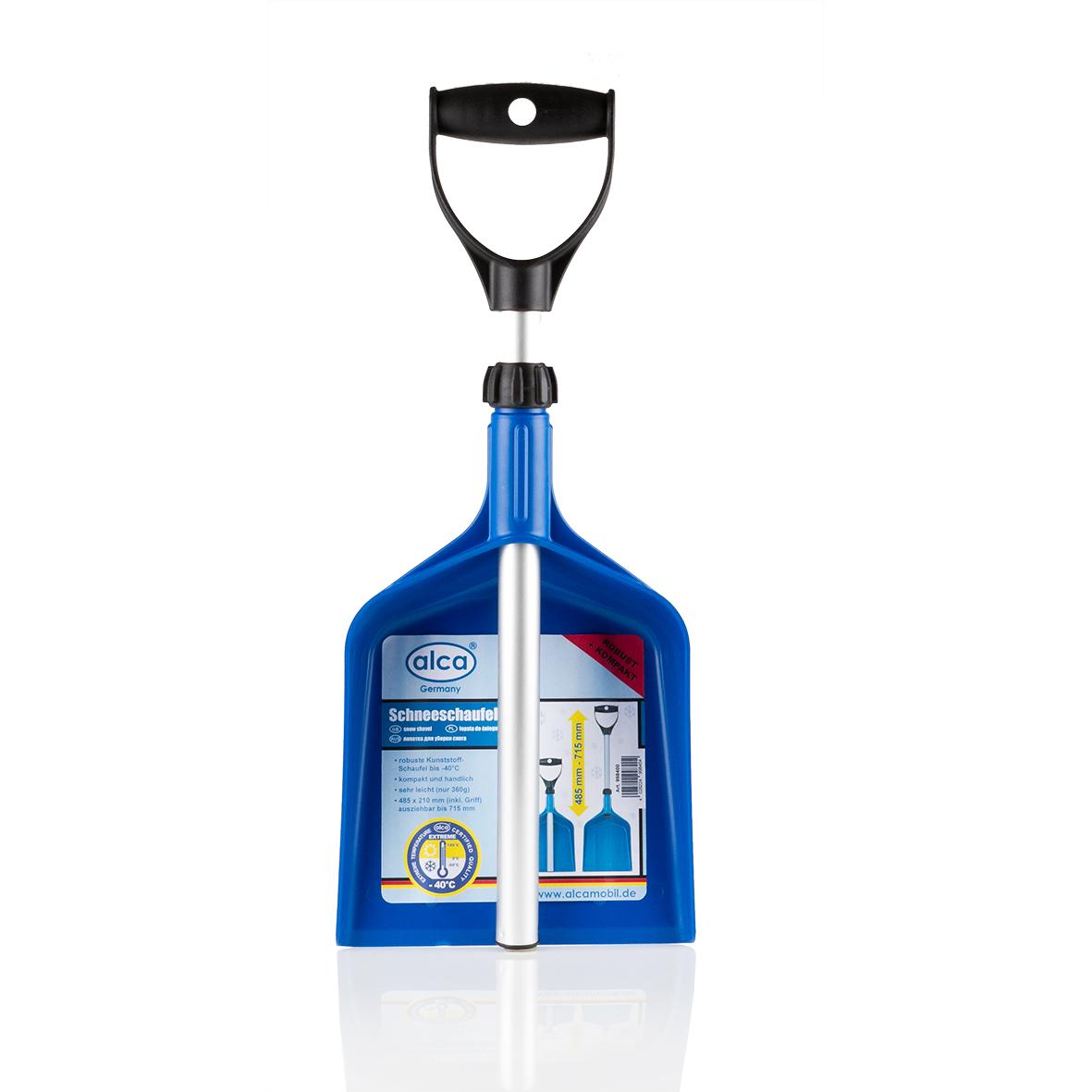 Лопата для уборки снега Alca, складная, длина 48,5-71,5 смTRA-054Лопата для уборки снега Alca имеет легкий вес и возможность использования при температуре до -40°С. Лопата складная, поэтому ее удобно хранить в багажнике автомобиля. Такая лопата поможет быстро очистить снег. Выполнена из прочных материалов, отличается износоустойчивостью и долгим сроком службы. Размер в сложенном виде: 48,5 х 21 см. Размер в разложенном виде: 71,5 х 21 см.