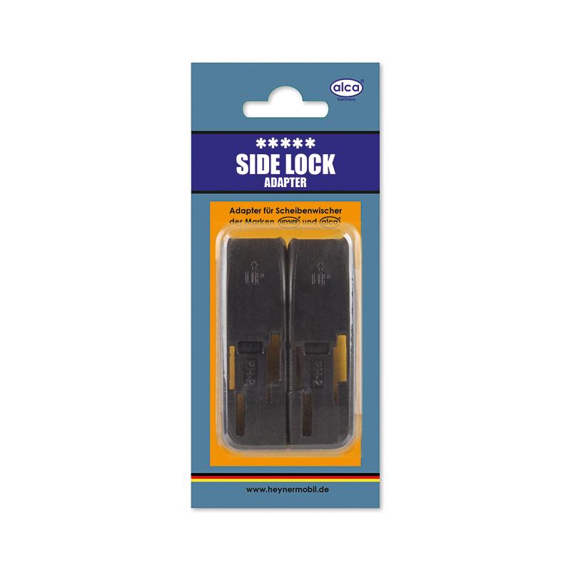 Адаптер для щеток Alca, с боковым замком, 2 шт790009Адаптеры Alca применяются для установки щеток стеклоочистителя автомобиля на поводок типа Side Lock. Изделия выполнены из прочного пластика.В комплекте 2 адаптера.