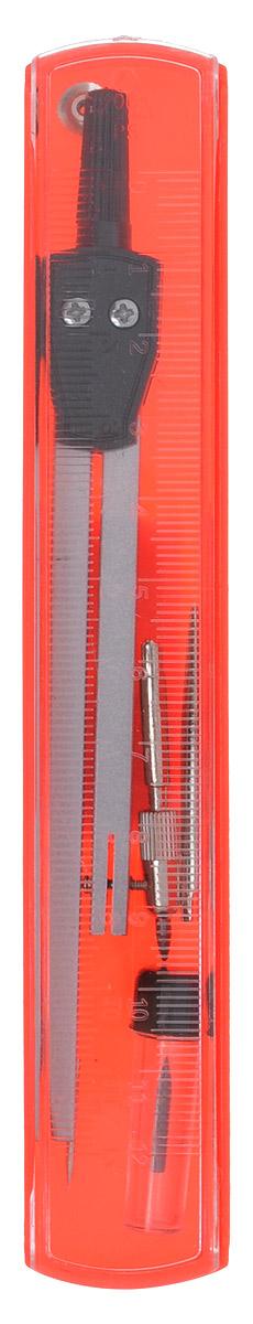 Perfecta Готовальня Studio 4 предмета72523WDГотовальня Perfecta Studio состоит из металлического циркуля с пластиковым держателем, игольной вставки, держателя с грифелем и запасного грифеля. Благодаря высокому качеству материалов и сборки, надежные чертежные инструменты Perfecta прослужат вам много лет. Отличный выбор и для учащихся, и для профессионалов. Предметы упакованы в пластиковый футляр с прозрачной крышкой-линейкой.