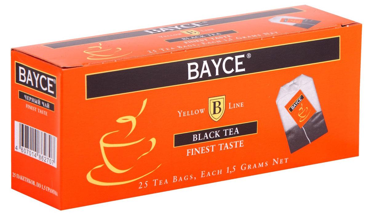 Bayce Файнест черный чай в пакетиках, 25 шт