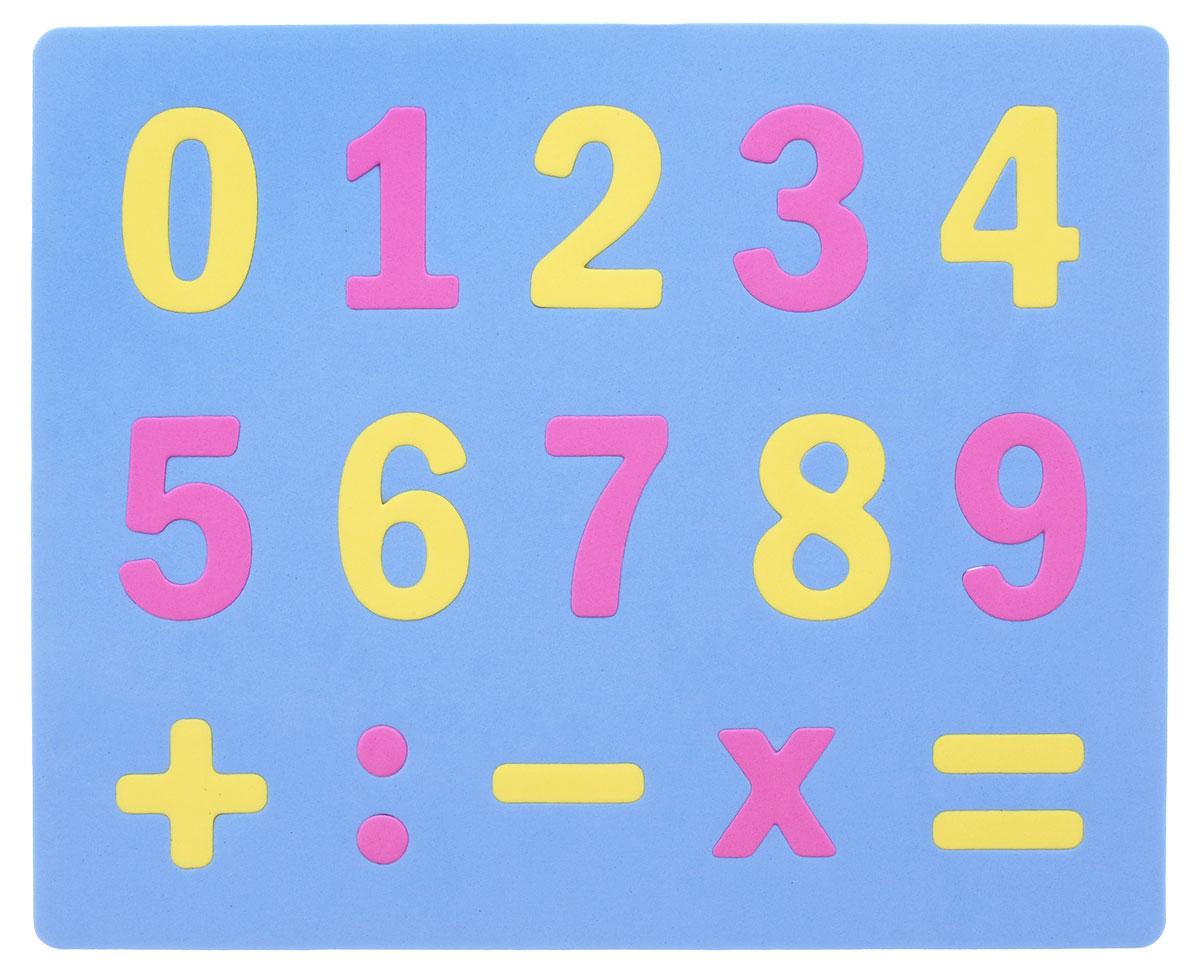 Апплика Мозаика Мягкие цифры цвет основы голубой мозаики апплика мозаика