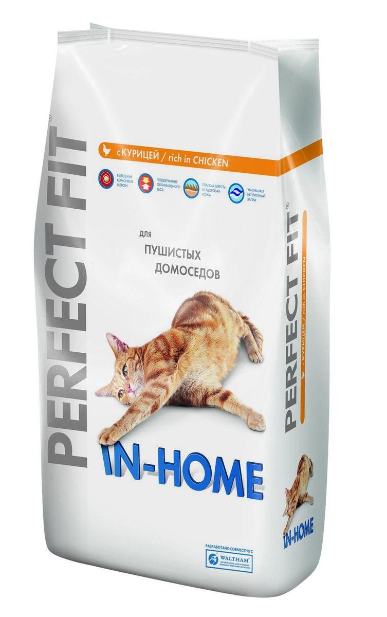 Корм сухой Perfect Fit In-Home для домашних кошек, с курицей, 3 кг0120710Сухой корм Perfect Fit In-Home создан специально для поддержания жизненного тонуса и хорошего самочувствия домашних лежебок. Особенности сухого корма Perfect Fit:- содержит натуральную клетчатку, помогающую контролировать образование комочков шерсти в организме кошки;- специальная рецептура позволяет снизить потребление калорий в каждом кормлении;- способствует поддержанию здоровой кожи и блестящей шерсти благодаря содержанию биотина, цинка и омега-6 кислот;- содержит экстракт Юкки Шидигера, помогающий уменьшить запах кошачьего туалета;- не содержит ароматизаторов, красителей и консервантов. Состав: высушенная мука из птицы (включая 22% курицы), кукурузный белок, высушенный животный белок, кукуруза, кукурузная мука, животный жир, рис, целлюлоза, высушенная печень, сухая свекла, дрожжи, хлорид калия, рыбий жир, экстракт юкки. Пищевая ценность в 100 г: белки - 41 г, жиры - 14,5 г, зола - 8 г, клетчатка - 3,5 г, кальций - 1,2 г, фосфор - 1,0 г, жирные кислоты (омега 3) - 0,4 г, жирные кислоты (омега 6) - 3,3 г, биотин (В7) - 0,02 мг, таурин - 194,5 г, витамин А - 1751 МЕ, витамин D3 - 181 МЕ, витамин Е - 84,5 мг, витамин С - 39 мг, витамины группы В, сульфат цинка - 13,5 мг.Энергетическая ценность в 100 г: 402 ккал.Вес: 3 кг.Товар сертифицирован. Perfect Fit - высококачественное сухое питание, специально разработанное для здоровья кошек, в соответствии с потребностями организма.Уважаемые клиенты!Обращаем ваше внимание на возможные изменения в дизайне упаковки. Качественные характеристики товара остаются неизменными. Поставка осуществляется в зависимости от наличия на складе.