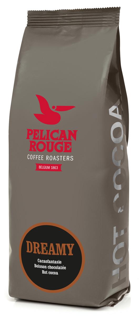 Pelican Rouge Dreamy горячий шоколад, 1 кг0120710Чистый какао взял все самое лучшее из какао-бобов, из которых приготовлен. Высушенные, обжаренные и измельченные какао-бобы отдали весь свой вкус этому какао.
