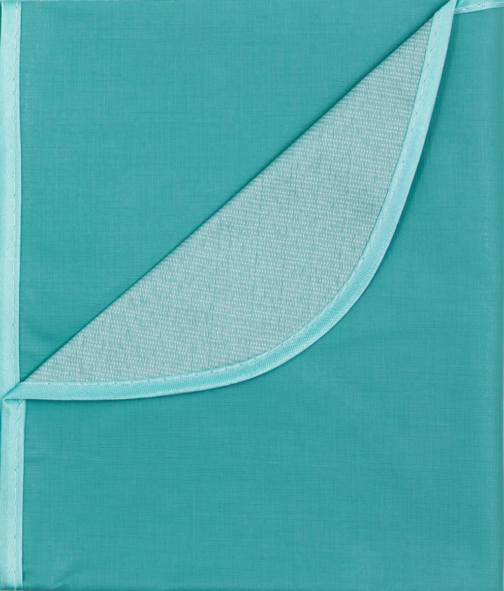 Колорит Клеенка подкладная с окантовкой цвет бледно-зеленый 70 х 100 см