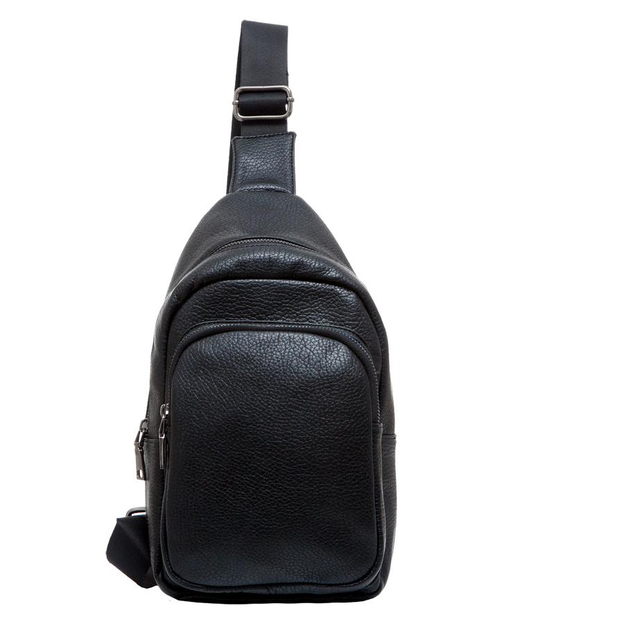 Сумка мужская OrsOro, цвет: черный. D-232/110130-11Практичная сумка OrsOro выполнена из искусственной кожи. Внутри основное отделение на застежке-молнии, которое содержит один накладной карман для телефона. На передней стороне располагается накладной карман на молнии. Сумка оснащена плечевым ремнем, который регулируется по длине.