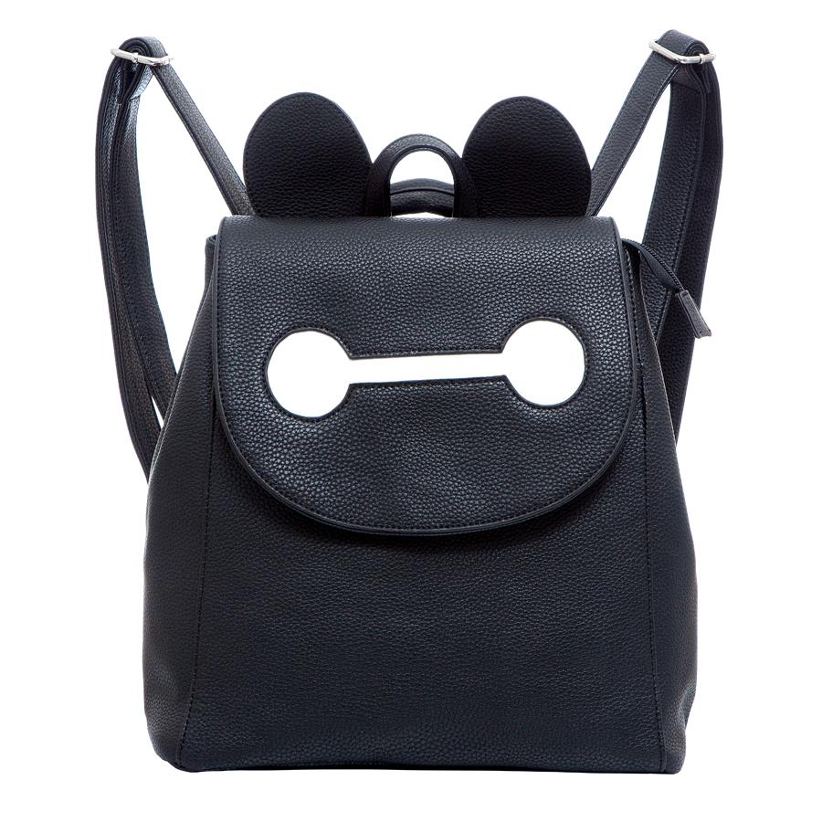 Рюкзак женский OrsOro, цвет: черный. D-246/2929831/23Стильный рюкзак OrsOro, выполнен из экокожи и оснащен двумя плечевыми регулируемыми ремнями на спинке и удобной ручкой для переноски. Изделие закрывается клапаном на кнопку, внутри имеет одно вместительное отделение с двумя накладными карманами для телефона и мелочей и одним прорезным карманом на застежке-молнии. С тыльной стороны изделия имеется прорезной карман на застежке-молнии. Сумка-рюкзак OrsOro - это выбор молодой, уверенной, стильной женщины, которая ценит качество и комфорт. Изделие станет изысканным дополнением к вашему образу.