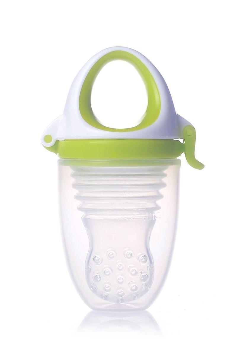 Kidsme Ниблер Фуд Фидер Плюс от 6 месяцев цвет лайм -  Все для детского кормления