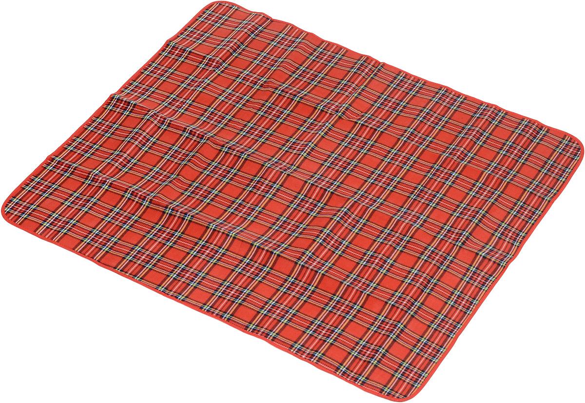 Коврик для пикника Wildman Виши, цвет: красный, 130 х 150 см391602Коврик для пикника Wildman Виши, выполненный из хлопка и полимерных материалов, позволит полноценно отдохнуть на природе.Он легкий, не занимает много места и прекрасно изолирует человеческое тело от холода и влаги. Мягкая поверхность коврика защищает от неровностей почвы, поэтому туристам, имеющим такую подстилку, гарантирован, кроме удобного отдыха, еще и комфортный сон.